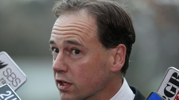 Shot down: Environment Minister Greg Hunt.