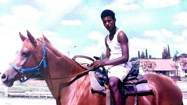 Avera Mengistu in a photo provided by his family.