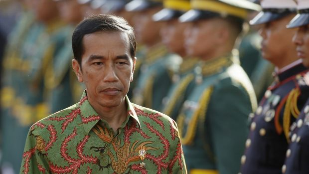 Joko Widodo is struggling to take control of the Indonesian presidency.