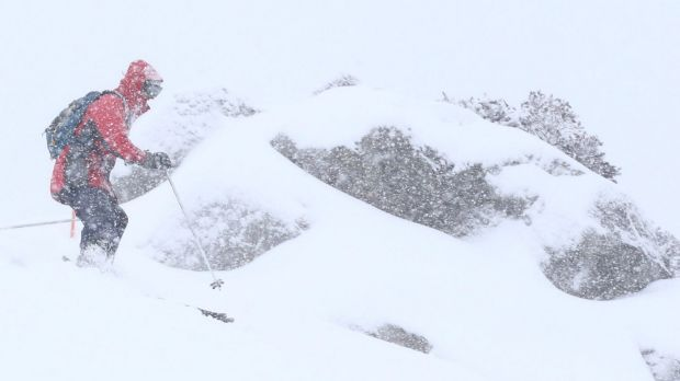 Much-needed snow arrives on the Alps.