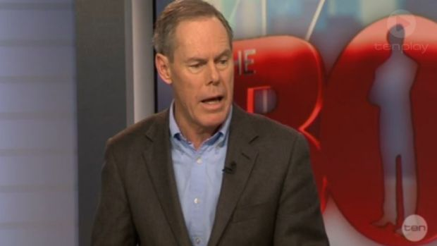 Former Labor MP Gary Johns made the controversial comments on Channel Ten's Bolt Report on Sunday.