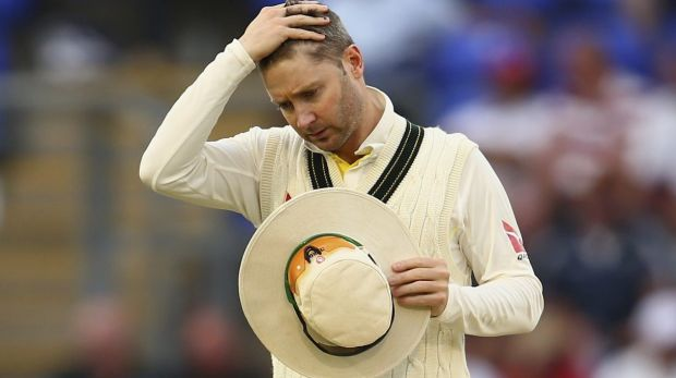 Refused drinks: Australian captain Michael Clarke.