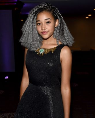 "Hunger Games star Amandla Stenberg came out as bisexual in a snapchat video for Teen Vogue, saying ""It's a really hard ..."