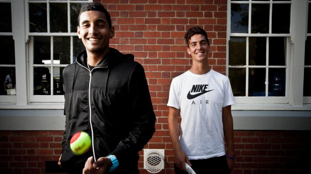 Nick Kyrgios and Thanasi Kokkinakis are ready to spearhead Australia's Davis Cup campaign.