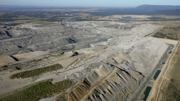 Rio Tinto's Mount Thorley-Warkworth mine in the Hunter Valley.