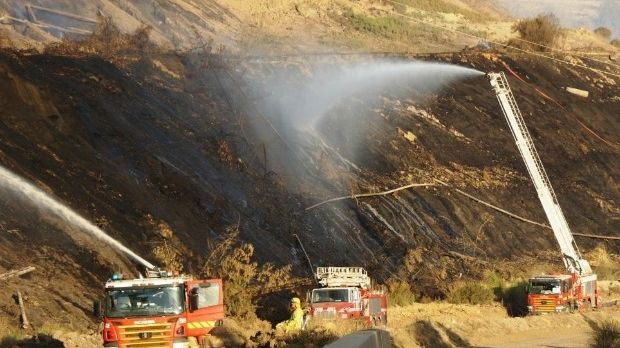 The Hazelwood mine fire burned for 45 days.