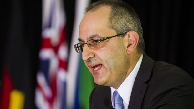 Department of Immigration and Border Protection head Michael Pezzullo.