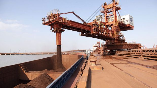 Ore with 62 per cent content rose 2.9 per cent to $US48.52 a dry metric ton on Friday, the highest since November 11, ...