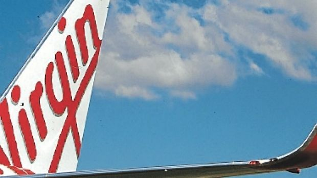 A Virgin passenger plane dumped fuel before it landed at Brisbane Airport.