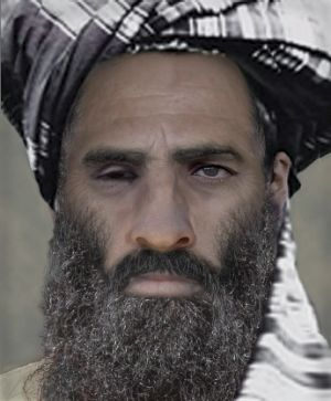 "Mullah Omar - seen here in an ""age-progressed"" image supplied by the FBI - has been dead for more than two years, ..."