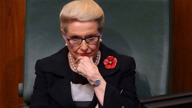 """However, Mr Abbott said Mrs Bishop """"has been a strong servant of our country, she has been a good servant of the ..."""