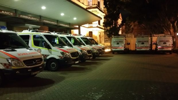 Emergency doctors predict a return to ambulances lined up outside hospitals.