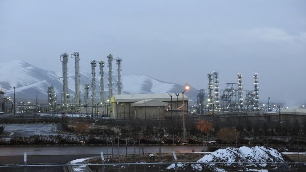 The heavy water nuclear facility near Arak in 2011.