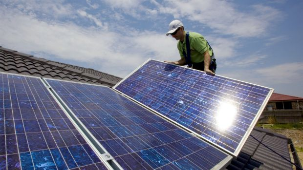 Land of the rising sun: While about 5 million Australians have solar panels on their homes, a push for industrial solar ...