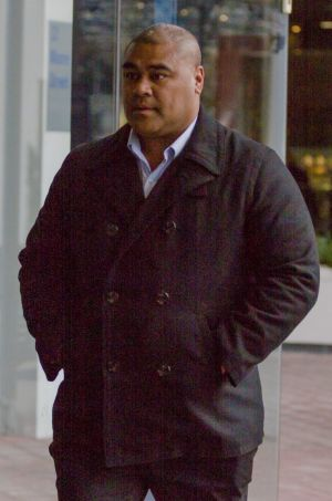 "Convicted blackmailer Halafihi ""Fihi"" Kivalu."