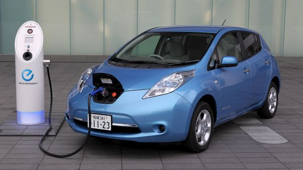 Electric cars: The ACT is looking to roll out recharging points throughout the city.