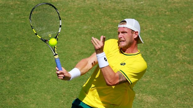 Davis Cup: Sam Groth has excelled representing his country.