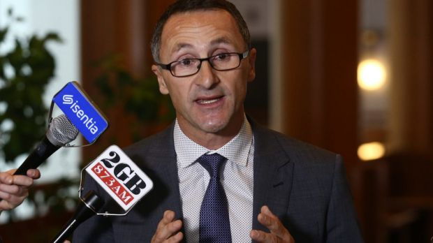 Richard Di Natale and his fellow Greens leaders are under fire over a ''deluge'' of phone calls.