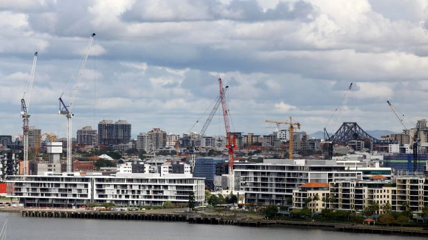 If the cranes over Newstead are anything to go by, there's no slowing down to growth in Brisbane.