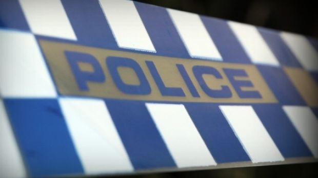 Police say the violent brawl broke out just before midnight on Saturday in Gladstone.
