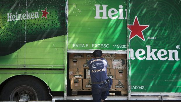 Heineken's local joint venture with beer and dairy group Lion has suffered a 16 per cent droop.