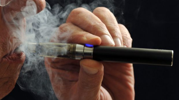 An e-cigarette: Strict controls are expected to come into effect in Canberra later in 2016.