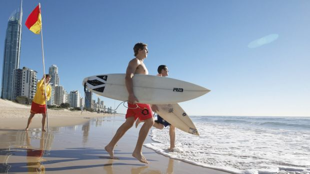 Hot weather is expected to drive crowds to the beach.