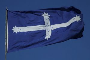The Eureka flag.The right-wing think tank, the Institute of Public Affairs, and the mining union, the CFMEU, are at ...