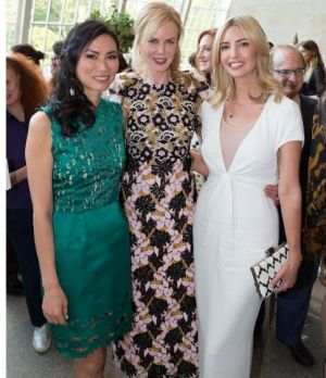 Working mothers: Wendi Deng, Nicole Kidman and Ivanka Trump at Nicole Kidman and Hamish Bowles' Met Talk event.