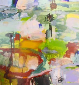 Ruth le Cheminant, Interior landscape in Water: Land: Sky at Form Studio and Gallery.