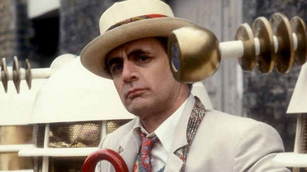 "The seventh Doctor Who, Sylvester McCoy, once described the Doctor as a male character, ""just like James Bond""."