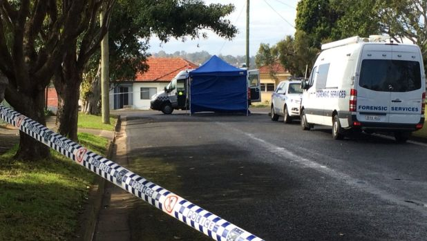 The street in the Newcastle suburb of Wallsend where a six-week-old baby girl was found dead.
