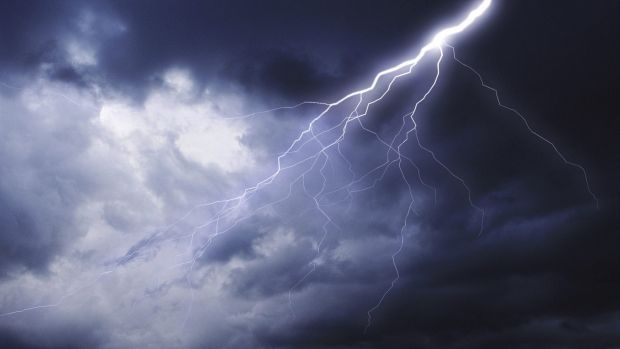 Shops, houses and power lines were damaged at Kenliworth on Thursday.