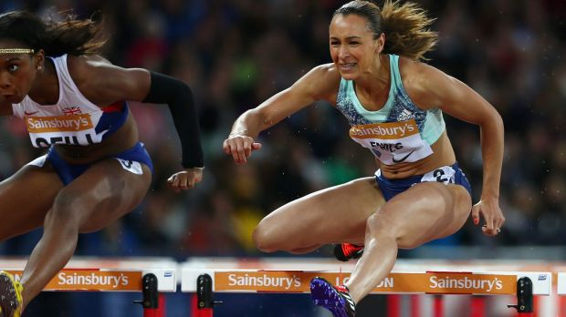 Champion: Jessica Ennis-Hill.