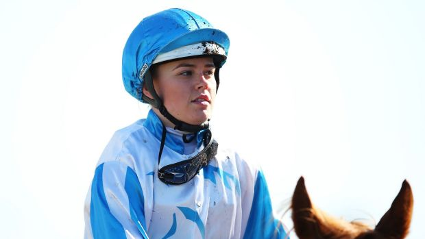 Breaking her duck: champion apprentice Winona Costin has found form for Peter and Paul Snowden.