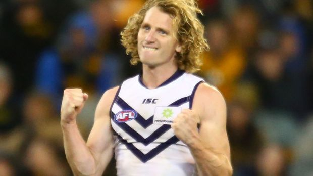 David Mundy is the Dockers' new captain.