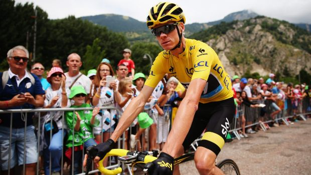 Not touring Down Under: Chris Froome.