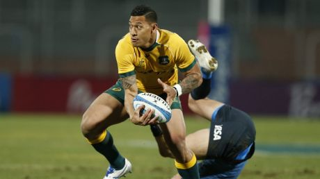 Israel Folau says the Wallabies camp has a settled feel.