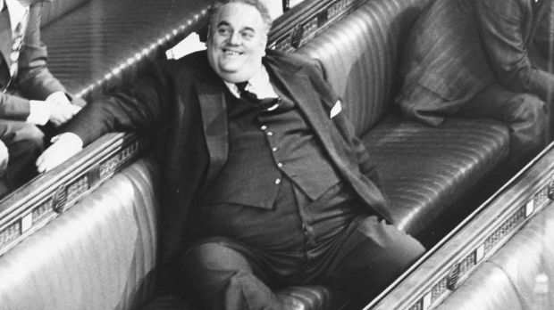 Cyril Smith, the Liberal MP who, after his death, was accused of being a serial child abuser.