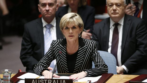 Pushing for a tribunal to prosecute the people who shot down MH17: Foreign Affairs Minister Julie Bishop speaks to ...