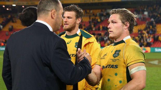 Wallabies vice-captain Michael Hooper returns to the starting side.