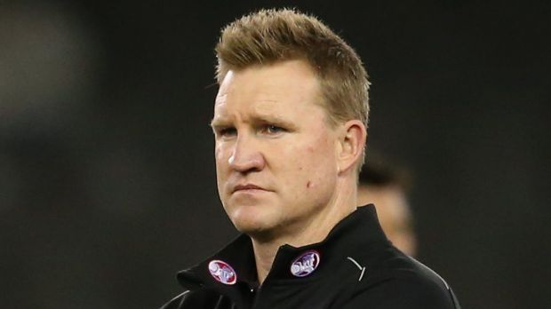 Re-signed: Nathan Buckley accepts one-year contract offer from the Pies.