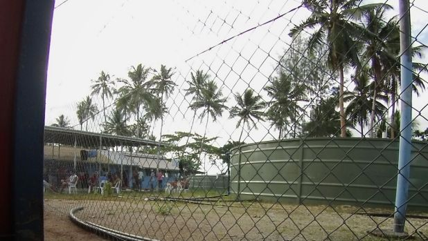 Transfield Services operates  detention centres on Nauru and Manus Island (pictured).