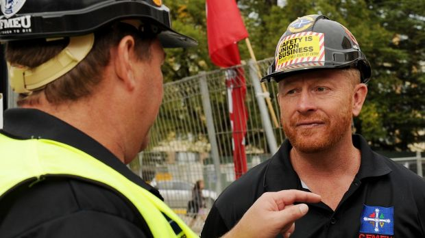 CFMEU ACT Branch secretary Dean Hall defends the union's charity arm against findings of the royal commission.