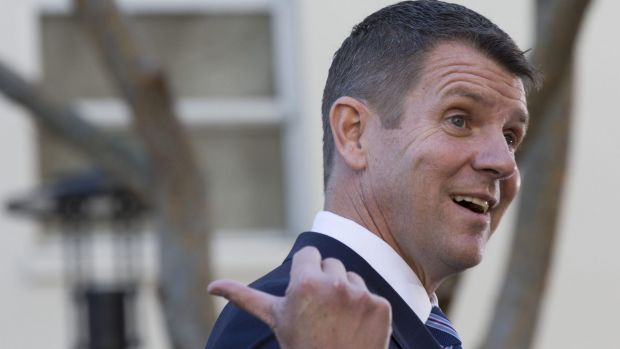 Premier Mike Baird in Sydney on Tuesday
