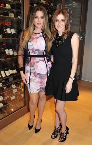 Khloe Kardashian and Kate Waterhouse, pictured in 2013, caught up over the phone ahead of the launch of Kardashian Kids ...