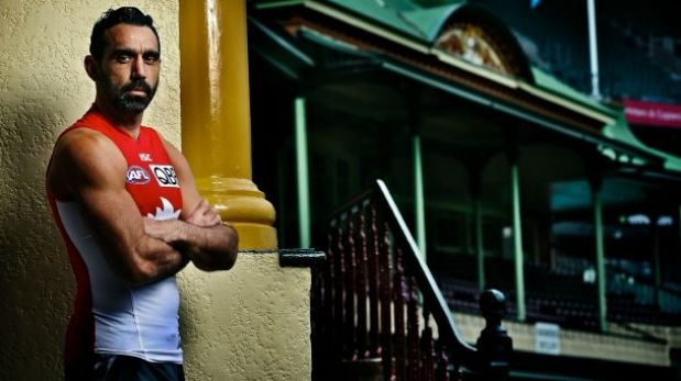 Adam Goodes has had enough of taunts and jeers from the crowds.