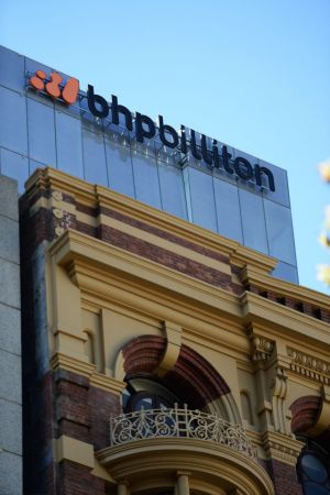BHP has reported an 86 per cent fall in net profit.