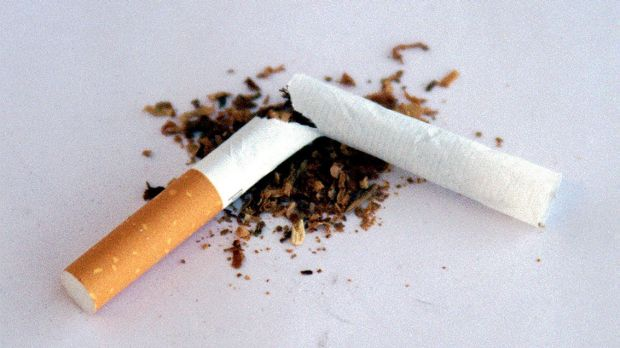 Smoking will be banned outside Parliament.