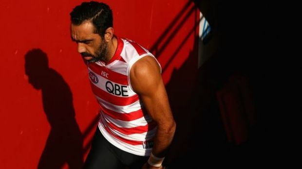 Adam Goodes has been given time off by the Swans.